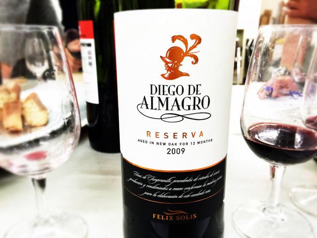 DIEGO DE ALMAGRO RESERVA 2009 FELIX SOLIS