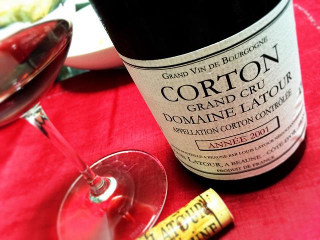 Corton 2001 Rouge Domaine Louis Latour